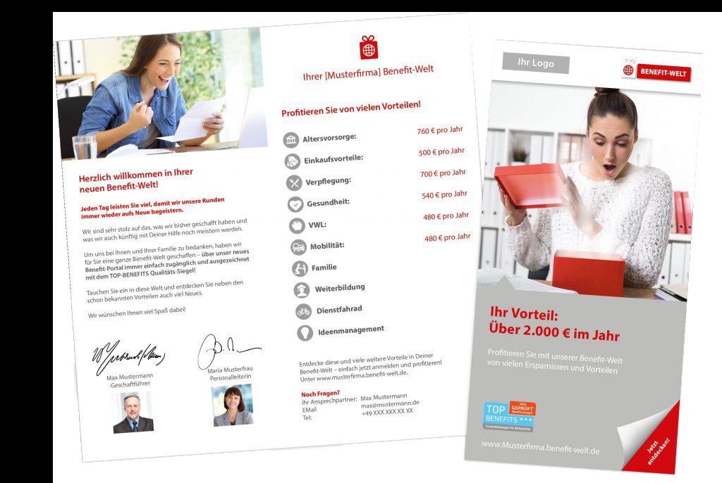 Bewerber- & Mitarbeiter-Flyer