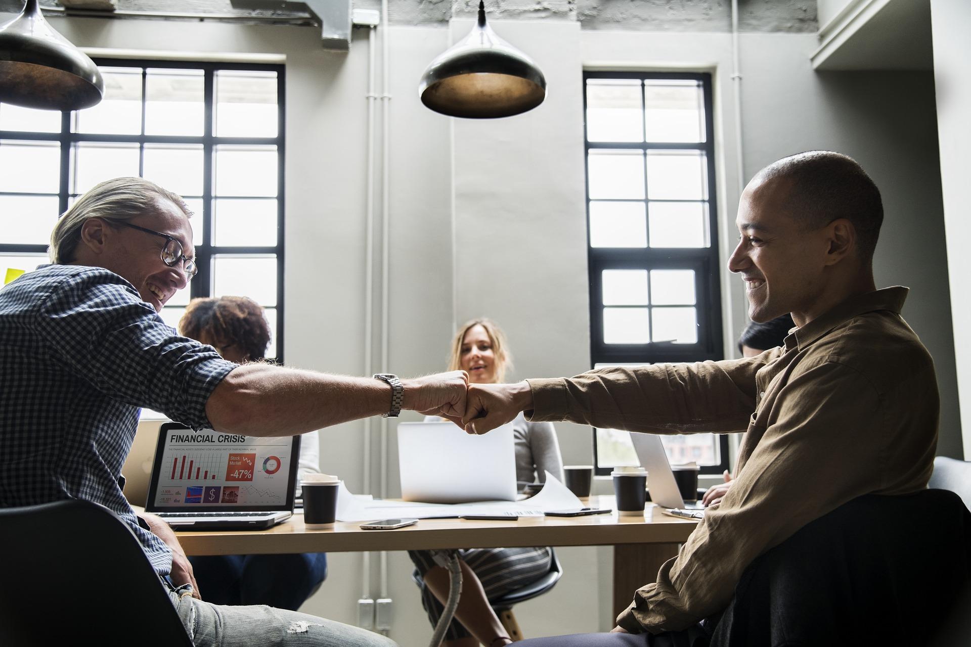 Gutes Betriebsklima benefit concepts